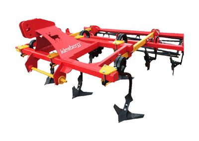 Stubble cultivator (helical protection)