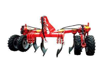 Subsoiler with wheels