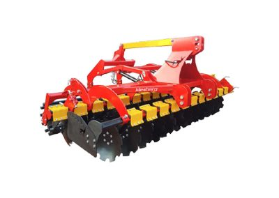 Sets and disc harrows with hydropack